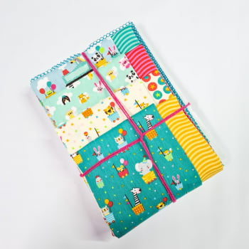 Kit de Tecidos K106 (8 Cortes de 50 x 75cm)