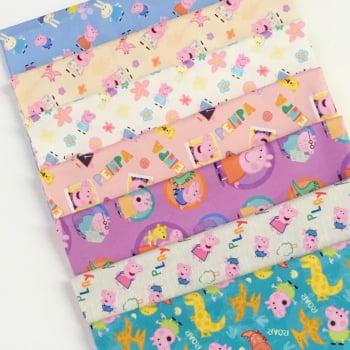 Kit de Tecidos Peppa Pig Digital K014