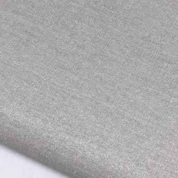 Tecido Metalizado Prata