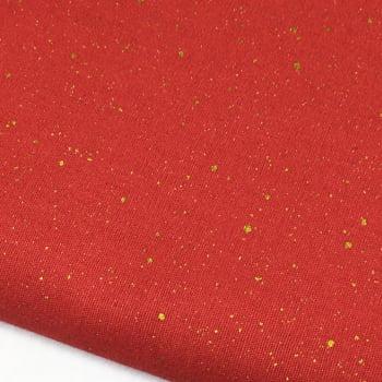 Tecido Metalizado Vermelho