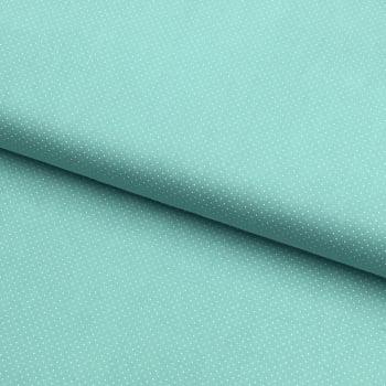 Tecido Micro Poá Azul Cristal