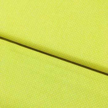 Tecido Micro Poá Branco Fd Amarelo Arte