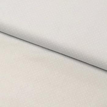 Tecido Micro Poá Branco Fd Branco