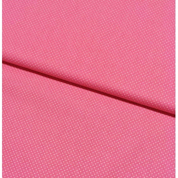 Tecido Micro Poá Branco Fd Flamingo