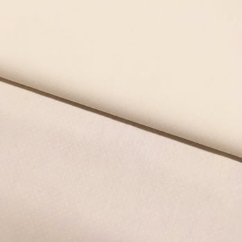 Tecido Micro Poá Branco Fd Off White