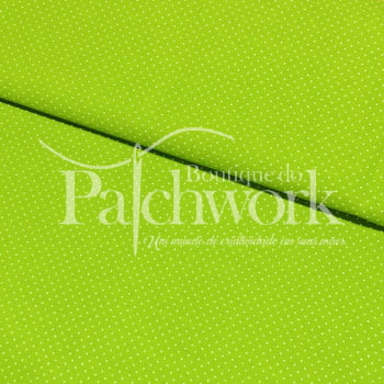 Tecido Micro Poá Verde Folha