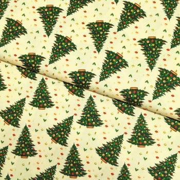 Tecido Digital Arvores de Natal