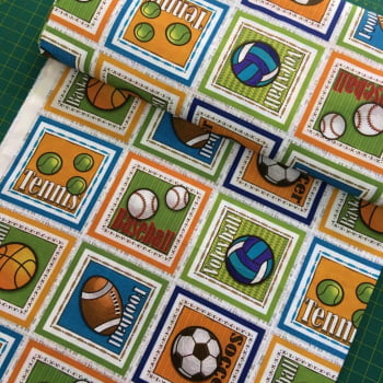 Tecido Digital Faixa (29x1,50) Esportes de Bola