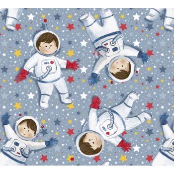 Tecido Digital Mini Astronautas