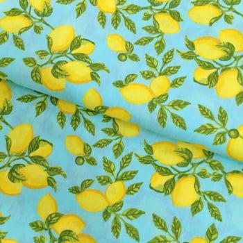 Tecido Limão Siciliano Fd Tiffany