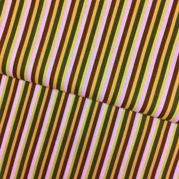 Tecido Listras Color Verde
