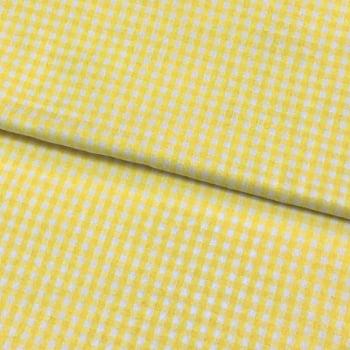 Tecido Xadrez Médio Amarelo