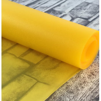 Vinil Translucido Amarelo 0.30mm (0,50 x 1,00)